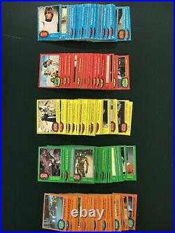 1977-78 Topps STAR WARS Series 1 2 3 4 & 5 Complete 330 Trading Card Set