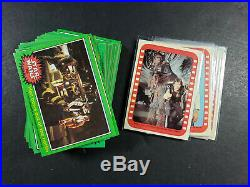 1977 STAR WARS CARDS HIGH GRADE MASTER SET 1-5 With STICKERS & C3P0 ERROR 326/330