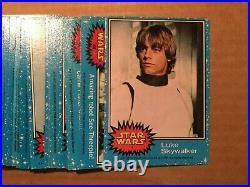 1977 Star Wars 1-5 Complete Card/Stickers Sets (330/55)- High Grade! PSA ready