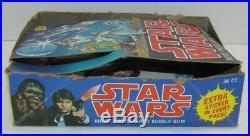 1977 Topps Stars Wars First Series Display Box with 50 cards & 5 stickers