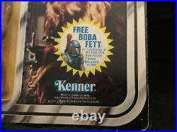 1978 CPG/Kenner Star Wars Chewbacca- Action Figure MOC Rare Promo Card Taiwan