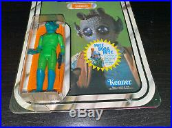 1978 Kenner Star Wars Greedo Mint On 20 Back Card Beautiful Unpunched