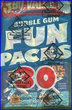 1978 Topps Basketball+star Wars-5th, Unopened 30-wax Pack Fun Bag-(bbce-sealed)