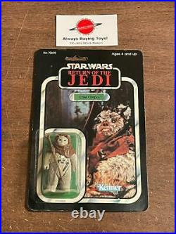 1983 Chief Chirpa MOC Carded Vintage ROTJ 77 Back Star Wars Back Kenner