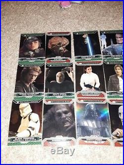 2015 TOPPS STARS WARS CHROME REFRACTOR cards storm troopers vader solo leia lot