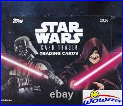 2016 Topps Star Wars Card Trader HUGE Factory Sealed 24 Pack HOBBY Box-Loaded
