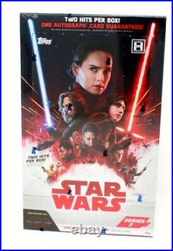 2018 Topps Star Wars The Last Jedi Series 2 Hobby Box Blowout Cards