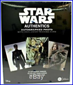 2019 Topps Star Wars Authentics Photo, Auto Trading Card Hobby Box Series 1 Seal