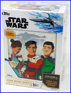 2019 Topps Star Wars Resistance Surprise Pack Blaster 16 Box Case Blowout Cards
