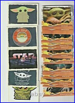 2020 Stars Wars Topps The Mandalorian 30 Card Set Includes Art Cards Mint
