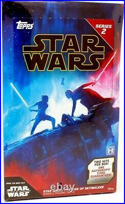 2020 Topps Star Wars The Rise Of Skywalker Series 2 Hobby Box Blowout Cards