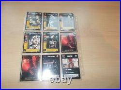 A Collection of Stars Wars JEDI Collector's Cards Housed In Plastic Wallets