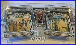 Acrylic Display Case -Vintage Carded Star Wars MOC (ADC-001) LOT OF 6! AFA style
