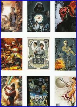 All 8 Star Wars Galaxy Sets Topps 1993 to 2012 Series 1 Thru 8 All 935 Cards