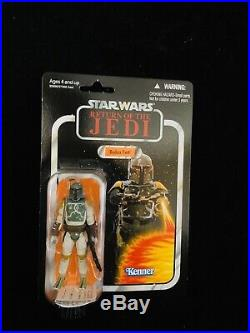 BOBA FETT Star Wars Vintage Collection VC09 VERY RARE Return Of The Jedi Card