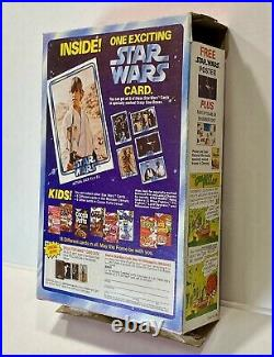 Crazy Cow Star Wars Cereal Box Circa 1977 Star Wars Cards Includes Premium