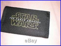 Disney Star Wars The Force Awakens Official 3D Lenticular Wallet Cards Notes ID