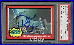 Don Bies signed autograph auto 2004 Topps Heritage Stars Wars Card PSA Slabbed