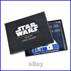 Genuine Star Wars R2-D2 ID Card Holder Travel Pass Boxed R2D2 Droid Oyster Bus