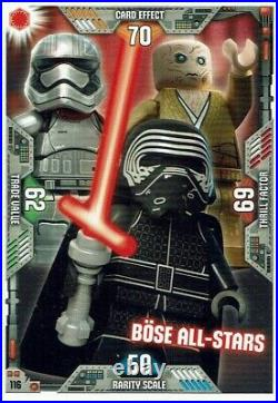 Lego Star Wars Series 2 Trading Cards Card No. 116 Böse all-Stars