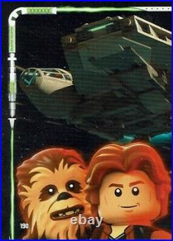 Lego Star Wars Series 2 Trading Cards Card No. 190 Puzzle all-Stars