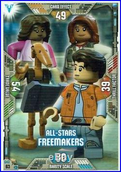 Lego Star Wars Series 2 Trading Cards Card No. 63 All-Stars Freemakers