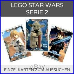 Lego Star Wars Series 2 Trading Cards Singles-Pick 1-202 to Choose