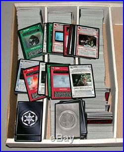 Lot of 2700 + Star Wars Inaugural Year Decipher Game Cards