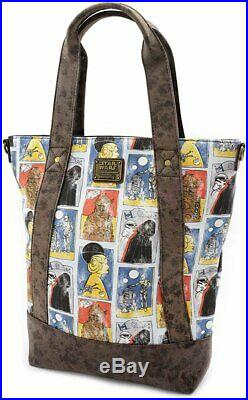 Loungefly x Star Wars Cards Crossbody Tote Bag