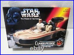 NEW Complete Lot of 9 1995 Star Wars Electronic Power of the Force Red Card POTF