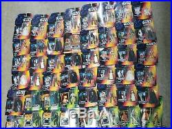 NEW Star Wars POTF Power of the Force Green & Red Card Lot Of 126 Figures