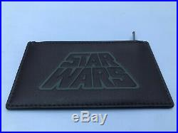 NWT$128 COACH STAR WARS COACH ZIP CARD CASE WALLET F89057 LIMITED ED WithCOACH BOX