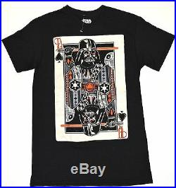 STAR WARS Queen of Spades DARTH VADER Card Men's Small (S) New without Tags