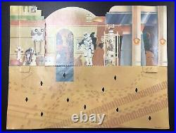 STAR WARS VINTAGE SEARS CANTINA PLAYSET COMPLETE WithBLUE SNAGGLETOOTH