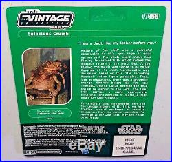 Sdcc 2011 Star Wars Revenge Of The Jedi Salacious Crumb Vc66 Unpunched Card