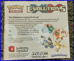 Sealed Xy Evolutions Booster Box Pokemon Cards Out Of Print! #2