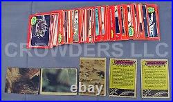 Star Wars 1977 Bubble Gum Trading Cards Incomplete Set with Duplicates Large Lot