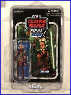 Star Wars Ahsoka Tano VC102 Vintage Collection New Unpunched Star Case US Card