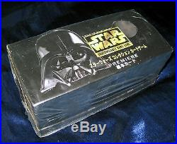 Star Wars CCG Japanese Premiere 12-Deck Booster Box Sets Sealed with 24 Rare Cards