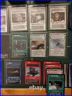 Star Wars CCG Lot Valuable Collection 140+ Rares Great Starter, 950+ Cards