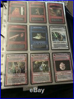 Star Wars CCG Tournament Foil Set (Complete 28 cards)