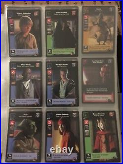 Star Wars CCG decipher Collection/Lot 1000s of cards Rares, UC and C with Jumbo