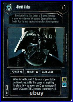 Star Wars Ccg Reflections Complete Master Set Of 114 Foil Cards