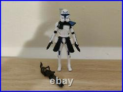 Star Wars Clone Wars Captain Rex CW04 Canada Europe Green Card 2013 Complete