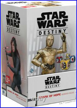 Star Wars Destiny Spark Of Hope (36 Count Booster Packs Display) New Card