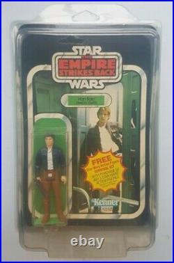 Star Wars ESB 41 Back Han Solo Bespin MOC Carded Figure Kenner Palitoy