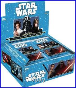 Star Wars Journey To The Force Awakens Trading Card RETAIL Box