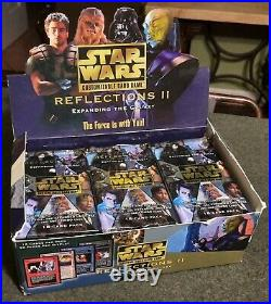 Star Wars Reflections II 2 Decipher CCG Card Limited Edition Sealed Booster Pack