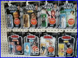 Star Wars Retro Collection wave 1 and 2 (ALL 14 figures) Mint on Card