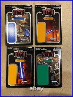 Star Wars The Vintage Collection Proof Card Set Foil Ultimate Galactic Hunt Tvc
